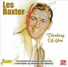 Thinking of You by Les Baxter (Jasmine 2 CD's, Jun-2009) FREE 1st CLASS SHIPPING