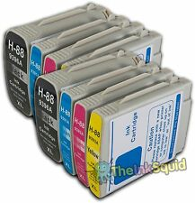 8 HP 88 XL Compatible Ink Cartridges for Officejet/Pro