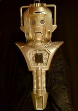 CYBERMAN HELMET HEAD AND CHEST UNIT PROP 1980s VERSION DOCTOR DR WHO CYBERMEN