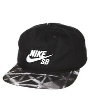 BNWT Nike SB Black Seasonal Snapback ADULTS UNISEX Adjustable Cap Hat Skateboard