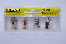 Noch 15861 HO 1/87 Stations Of Love Story Figures C-9 Factory New In Box
