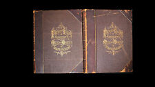 1873 Portrait Gallery of Eminent Men and Women of Europe and America 2 Volumes