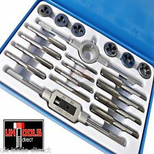 BSF Tap and Die Set Bitish Standard Fine 20pc Set 3/16-1/2 Whitworth Fine Thread