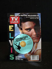 TV Guide May 8-14 2005 Elvis cover with CD