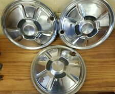 """Set of 3 - 13"""" RX-3 Mazda 1974-1975 Wheel Covers Hubcaps"""