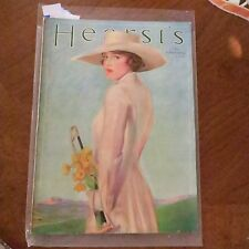 Vintage Magazine HEARST'S/1921 Christy Cow African American Indian Maiden Garter