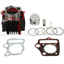 47mm Cylinder Piston Pin Ring Set Kit 90cc ATV Quad Dirt Pit Bike Go Kart Buggy