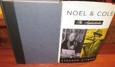 Noel and Cole: The Sophisticates ~ Stephen Citron  HbDj  WITTY urbane GIFTED