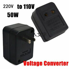 220V To 110V 50W AC Power Voltage Converter Adapter Transformer For US/USA HX