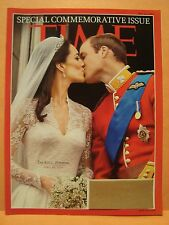 THE ROYAL WEDDING APRIL 29 2011 TIME MAGAZINE COVER PAGE PHOTO 4X6 GLOSSY PAPER
