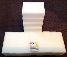 "65 Pack Extra Large 1-1/4"" Magic Sponge Eraser Melamine Foam Cleaning USA Seller"