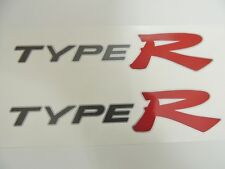 Honda Civic EP3 Type R OEM Red x 2 Side Panel Stickers Decals K20 - DARK CARS