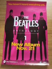 BEATLES Anthology 1 Promo Poster purple 24x36