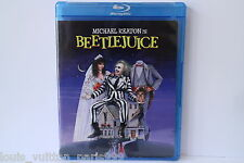 BEETLEJUICE BLU RAY DISC VIEWED ONCE