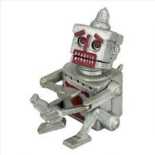Robert the Robot Die Cast Iron Mechanical Coin Bank Antique Replica