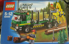 LEGO 60059 city log truck