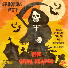 GROOVING WITH THE GRIM REAPER - 2CD Set on Jasmine