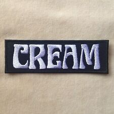 CREAM ROCK BAND MUSIC JACK BRUCE ERIC CLAPTON EMBROIDERY IRON ON PATCH BADGE