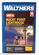 HO Scale Walthers Cornerstone 933-3663 Rocky Point Lighthouse Building Kit