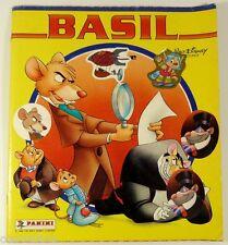 Album PANINI 1986 BASIL détective privé Disney vignettes stickers autocollants