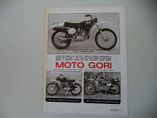 advertising Pubblicità 1976 MOTO GORI 125 RG/JC5 JC 5 50/125 SCRAMBLER