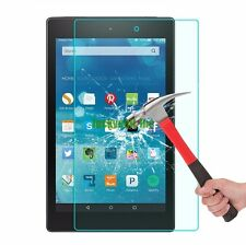 "Premium Tempered Glass Screen Protector for Amazon Kindle Fire hd 8"" 2015"