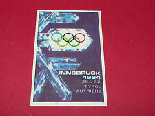 283 INNSBRUCK 1964 HIVER PANINI OLYMPIA 1896-1972 JEUX OLYMPIQUES OLYMPIC GAMES