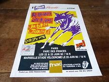 THE ROLLING STONES - URBAN JUNGLE!! Publicité de magazine / ADVERT !!!