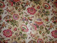 Mill Creek Raymond Waites Floral EGGSHELL Pink Home Decor Drapery Sewing Fabric