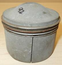 1958-ONLY Matchless G12 650cc NOS 72mm +020 Hepolite #15242 one piston +rings-92