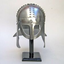 "VIKING WARRIOR HELMET 12 1/2"" ~ MEDIEVAL KNIGHT ~ WARRIOR COSTUME ~ GLADIATOR"