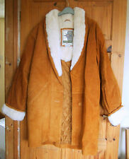 NEW Middlebrook Park Tan Suede leather coat size M (14/16)