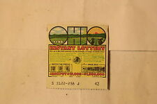 """OHIO """"instant"""" 1976 Lottery Ticket ~ Vintage gaming"""