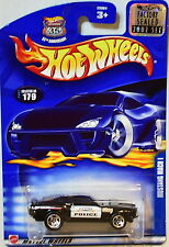 HOT WHEELS 2002 MUSTANG MACH I #179 POLICE BLACK FACTORY SEALED