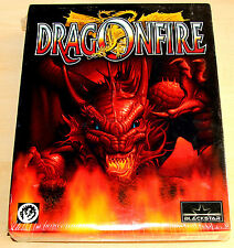 PC SPIEL GAME DRAGONFIRE - NEU NEW SEALED BIG BOX MANUAL - RARE!!