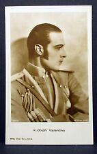 Rodolfo Valentino-actor Movie photo-película autógrafo-mapa ak (lot-z-261)