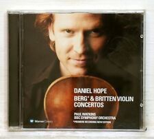 DANIEL HOPE - BERG & BRITTEN violin concertos WARNER CD NM