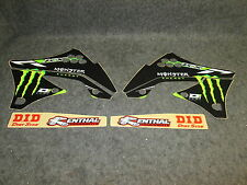 Kawasaki KXF450 2009-2011 D Cor Monster Energy graphics kit 10-20714