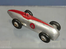 "DINKY TOYS MODEL No.23a  RACING CAR ""SILVER & RED VERSION""   RESTORED PARTLY"