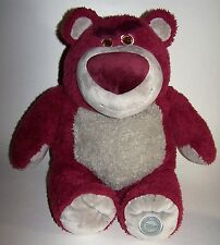 "Disney Store Toy Story Lotso Bear Strawberry Smell Plush BIG 16"" Authentic Store"