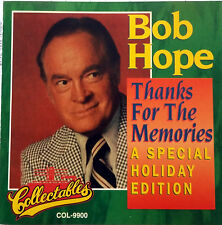 Bob Hope Thanks For The Memories CD New Years, Christmas Day
