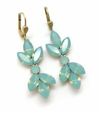 CATHERINE POPESCO Pacific Opal Josephine-Pave Marquise Swarovski Gold Earrings