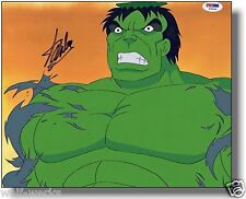 SMASH Incredible Hulk Hand Painted PRODUCTION cel signed STAN LEE PSA/DNA