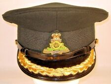 Canada Canadian Armed Forces Land Artillery Male Senior Officer Dress Hat Cap