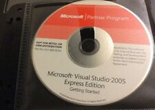 Cd Microsoft Partener Program Microsoft Visual Studio 2005 Express Edition