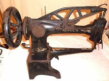 Antique 1912 Industrial Singer Sewing Machine 29-4 Leather Cobbler