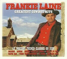 FRANKIE LAINE GREATEST COWBOY HITS - 2 CD BOX SET - RAWHIDE, HIGH NOON & MORE