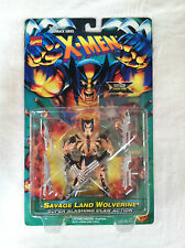 Marvel Comics X-Men Mutant armor savage land wolverine trading card figure toy