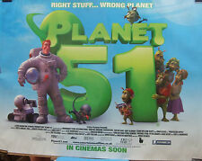 PLANET 51(2009) ORIGINAL  rolled advance movie poster POST FREE!!