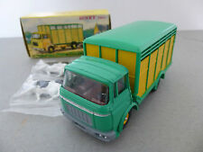 French DINKY TOYS BERLIET Bestiame CAMION BERLIET GAK BETAILLERE CAMION Bestiame